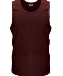 Royale_Mens_Singlet_Chocolate